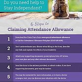6 Steps to Claiming Attendance Allowance