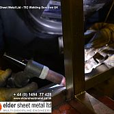 Elder Sheet Metal Ltd - TIG Welding LONDON UK
