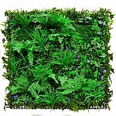 MIXED PLANTS 100CM X 100CM – ARTIFICIAL HEDGE PANEL